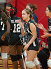 St. John's School's JV2 girls volleyball team hosts Second Baptist. Second Baptist swept the Mavs in two games.