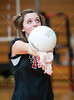 St. John's School's JV1 girls volleyball team hosts Second Baptist. Second Baptist swept the Mavs in two games.