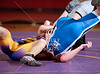 The Knights of Episcopal High School, the Falcons of Kinkaid and the Mavericks of St. John's compete in the Southwest Preparatory Conference's South Zone Wrestling Championship at St. John's. Episcopal wins, although conference medals are awarded individually to 1st and 2nd--place wrestlers.