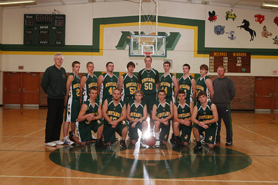 High School Boy's Basketball 2010-11