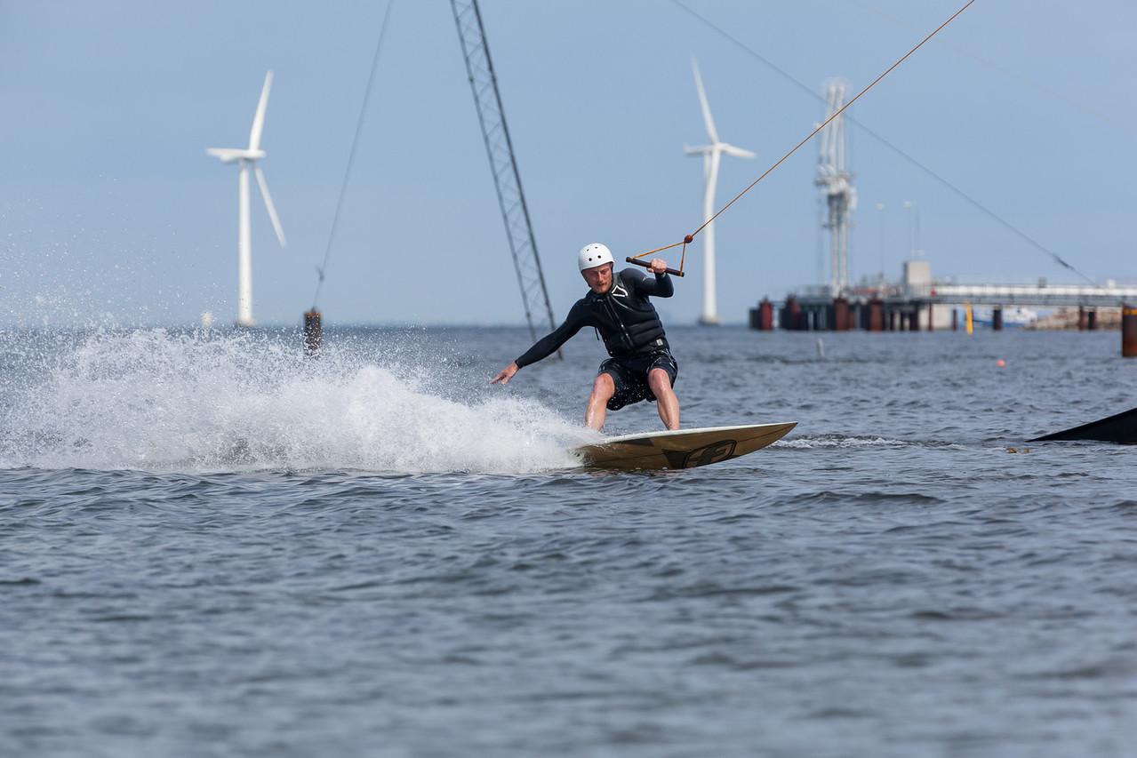 Wake Boarding at Copenhagen Cable Park