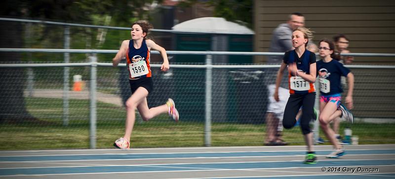 Stella, 100m final<br /> Regional scholastic championships<br /> May 25, 2014
