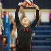 St. John's at Second Baptist girls volleyball