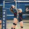 St. John's at Second Baptist girls volleyball