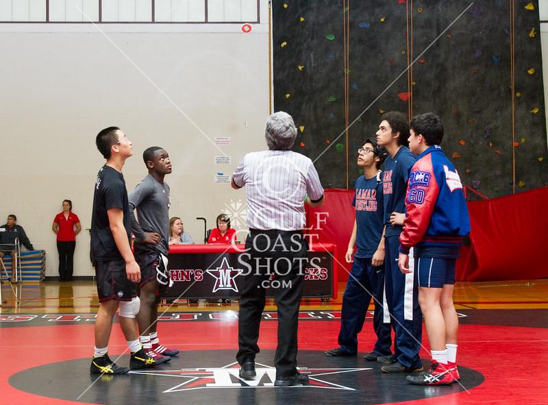 SJS wrestling meet