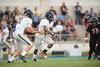 St. John's Mavericks host the Eagles of Second Baptist in varsity football at Skip Lee field on parent's/senior night. Fri., Sept. 2, 2017. Houston, Tex. (Kevin B Long / GulfCoastShots.com)