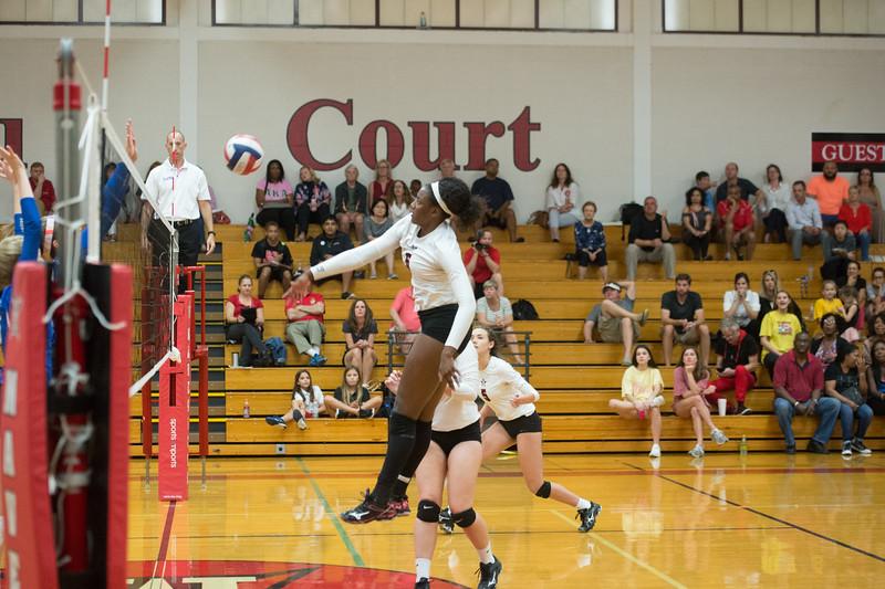 SJS hosts St. Andrew's girls volleyball