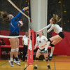 SJS hosts St. Andrew's girls volleyball
