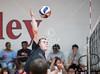 Kinkaid at St. John's boys varsity volleyball