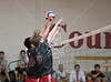 Kinkaid at St. John's boys varsity volleyball