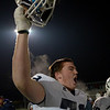 Waltham: St. John's Prep lineman Sean Hoey celebrates the Eagle's championship victory. Mark Teiwes photo.
