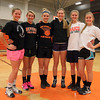Beverly: The Beverly girls basketball team will turn to seniors Mary Cate Flaherty, Kate Silvestri, Ashley Keaton, Keegan Whitehair, Bridget Keaton and Michayla Woodward for veteran leadership in the 2013-2014 season. DAVID LE/Staff Photo