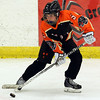 Salem: Beverly winger Kristen McCarthy (5) looks to make a pass on the power play against HPNA during the second period of play at Rockett Arena at Salem State University on Wednesday evening. DAVID LE/Staff Photo