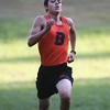 Beverly: Beverly freshman Brian McPherson sprints to the finish line against Peabody on Wednesday afternoon. David Le/Salem News