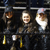 Woburn: Bishop Fenwick seniors Arianna Maida, Erika Patnaude, Tessa McLaughlin, Natalie Emerson, and Ayla Callahan pose for a photo at the Crusaders D5 State Semifinal against Abington at Connolly Stadium in Woburn on Friday evening. David Le/Salem News