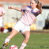 Boxford: Masco senior captain Kaleigh White controls the ball against Newburyport on Monday afternoon. David Le/Salem News
