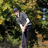 Salem: Salem junior Kyle Doherty putts downhill on the 9th green during the NEC Golf Open on Thursday afternoon at Tedesco Country Club. David Le/Salem News