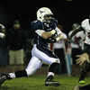 Peabody: Peabody senior captain Cody Wlasuk bursts into the open field against Salem on Friday evening. David Le/Salem News