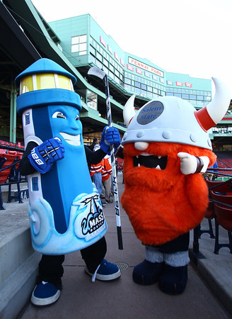 Boston: UMass Boston and Salem State University will face off in a Frozen Fenway matchup on January 7, 2014. David Le/Salem News