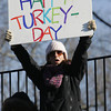 Danvers:<br /> Lisa Fiore cheers for her nephew who is playing for St. Johns Prep at the Xaverian at St. John's Prep Thanksgiving football game.<br />  Photo by Ken Yuszkus / The Salem News, Thursday, November 28, 2013.
