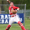 FOR FILE PHOTOS: Masconomet senior catcher Mike Manni (13). DAVID LE/Staff photo. 5/20/14