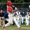 FOR FILE PHOTOS: Masconomet senior third baseman Dan Dempsey (10). DAVID LE/Staff photo. 5/20/14