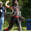 Senior Catcher Alexandra Mendelsohn (10). DAVID LE/Staff photo. 5/21/14.