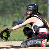Senior Catcher Alexandra Mendelsohn (10). DAVID LE/Staff photo. 5/21/14.