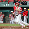 Masco junior Chris Rich watches the flight of his long drive that hit off the wall in deep left-center for a RBI double. The Chieftains captured the D2 State Championship with a 10-2 win over Westwood at Campanelli Stadium in Brockton on Thursday afternoon. DAVID LE/Staff photo. 6/12/14
