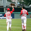 The Chieftains captured the D2 State Championship with a 10-2 win over Westwood at Campanelli Stadium in Brockton on Thursday afternoon. DAVID LE/Staff photo. 6/12/14