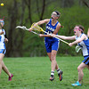 Waring midfielder Sara Kessler (13) fires home a goal against Chapel Hill-Chauncey Hall during the second half of play. Waring took down Chapel Hill-Chauncey Hall 20-7 in the Independent Girls Conference (IGC) championship on Friday afternoon at the Waring School in Beverly. DAVID LE/Staff photo. 5/16/14.