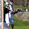 Marblehead: Marblehead attack Trevor Jones unleashes his second goal of the game, beating Beverly goalie Kevin Lally in the third quarter of play. Jones scored three third quarter goals and added one more at the start of the 4th quarter to lead the Magicians to a 5-4 win over Beverly in NEC play.  David Le/Salem News