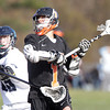 Peabody: Beverly senior attack Ryan Shipp fires a shot on net against Peabody on Wednesday afternoon. David Le/Salem News