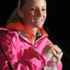 Boston: Marblehead native Shalane Flanagan speaks to the media after the 117th Boston Marathon on Monday afternoon. David Le/Salem News
