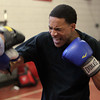 Salem: Senior Riqui Pacheco runs through a few exercises at practice on Monday afternoon in preparation for a boxing showcase at Salem High School on Saturday.  David Le/Salem News