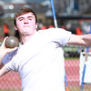 Bevery: Beverly High School senior captain Aaron Salmea will look to lead the Panthers throwers during spring track, competing in the shot put and discus for Beverly. David Le/Salem News