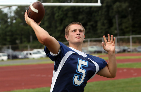 Peabody High School junior quarterback Cody Wlasuk will look to lead the Tanners in 2012. David Le/Staff Photo
