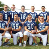 Peabody High School football seniors. David Le/Staff Photo