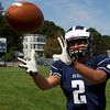Senior captain and wide receiver Josh Rothwell will lead the Big Blue into the Fall 2012 Season. David Le/Staff Photo