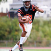 Beverly: Beverly senior running back Isiah White will pace the Panthers offense out of the Wing-T. David Le/Salem News