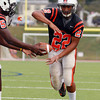 Beverly: Beverly senior running back Isiah White will look to lead the Panthers Wing-T rushing attack this fall, and will start at outside linebacker on defense. David Le/Salem News