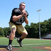 Peabody: Bishop Fenwick senior captain Charlie St. Pierre will look to anchor the Crusaders' offensive and defensive lines this fall. David Le/Salem News
