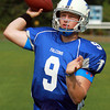 Danvers: Danvers junior signal caller Nick Andreas will be under center for the Falcons and will look to lead them to the playoffs in 2013. David Le/Salem News