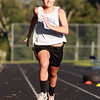 Hamilton: Hamilton-Wenham senior and girls basketball captain Sue Rose sprints down the straightaway of the obstacle course. David Le/Salem News