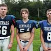 Hamilton: From left, Hamilton-Wenham seniors Andrew Cavanaugh, Drake Little, and Jack Clay. David Le/Salem News