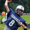 Hamilton: Hamilton-Wenham senior quarterback Jack Clay will be at the helm for the Generals in the 2013 season. David Le/Salem News