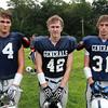 Hamilton: From left, Hamilton-Wenham seniors Alex Rogers, Will White, and Matt Curran. David Le/Salem News