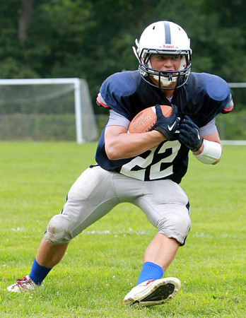 Hamilton: Hamilton-Wenham sophomore running back Cam Macri will get the primary workload this season in the backfield for the Generals. They will look to return to the playoffs in 2013. David Le/Salem News