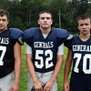Hamilton: From left, Hamilton-Wenham seniors Luke Sprouse, Tristan Smith, and Jack Carr. David Le/Salem News