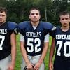 Hamilton: From left, Hamilton-Wenham seniors Luke Sprouse, Tristan Smith, and Jack Carr. David Le/Salem News